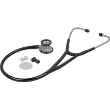 <strong>Veridian Healthcare</strong> Pinnacle Series Stainless Steel Cardiology Stethoscope in Black