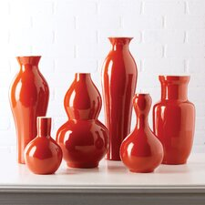 Vases Includes Assortment of Traditional Shapes (Set of 6)