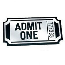 Ticket Mirror Acrylic Wall Decor