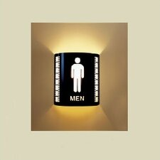 <strong>Bass</strong> Men's Room Wall Sconce
