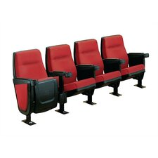 Forum Row of Four Movie Theater Chairs