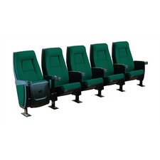 Presidential Row of Five Rocker Home Theater Chairs
