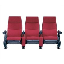 Regal Row of Three Movie Theater Chairs