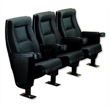 Contour Movie Custom Theater Seating Collection by Bass