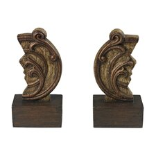 Reclaimed Artifact Book End (Set of 2)