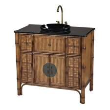 "39"" Sheerwater Bamboo Vanity Set"