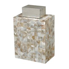 Bolton Mother of Pearl Decorative Jar