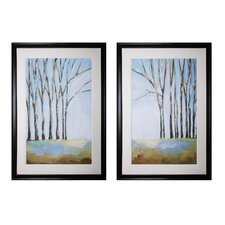 The Day His Heart Returned and What Love Is 2 Piece Framed Painting Print Set