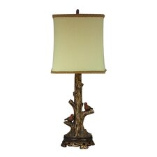 Birds on Branch Accent Table Lamp