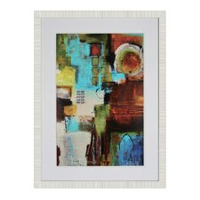 Times Square Framed Painting Print