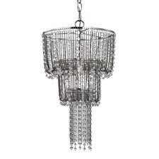 1 Light Beaded Mini Chandelier