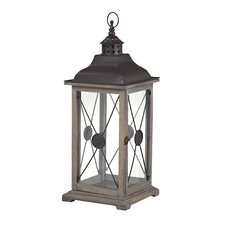 <strong>Sterling Industries</strong> Wooden Lantern