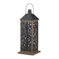 Darfield Wooden Lantern