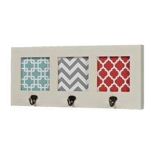 <strong>Sterling Industries</strong> Chevron Print Wall Hook