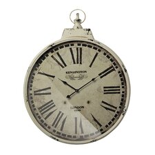 "Oversized 23.6"" Kensington Station  Wall Clock"