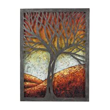 <strong>Sterling Industries</strong> Whitney Autumn Scene Wall Décor