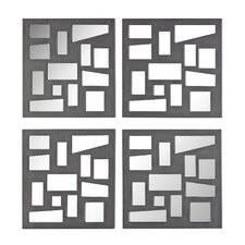 Mirrored Panel (Set of 4)
