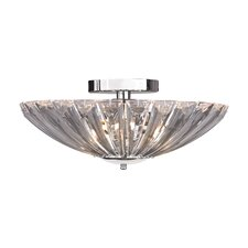 4 Light Semi-Flush Mount
