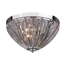3 Light Semi-Flush Mount