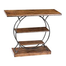 <strong>Sterling Industries</strong> Wood and Metal Console