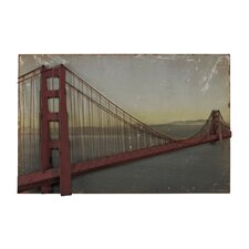 <strong>Sterling Industries</strong> Golden Gate Bridge Wall Art