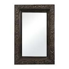 "<strong>Sterling Industries</strong> Embossed 38"" H x 25"" W Framed Mirror"