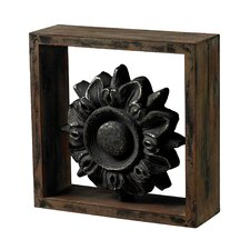 <strong>Sterling Industries</strong> Wood Frame Accessory with Cast Iron Look Centre