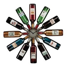 "Oversized 29.5"" Wine Bottle Wall Clock"