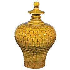 Large Lidded Decorative Urn