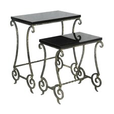 <strong>Sterling Industries</strong> 2 Piece Nesting Tables