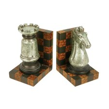 Grand Master Book Ends (Set of 2)