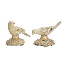 2 Piece Starling Figurine Set