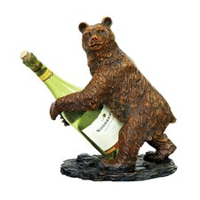<strong>Sterling Industries</strong> Bear Wine Holder