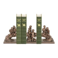 Three Piece Secret Tree Bookend Set