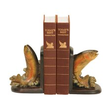 Rainbow Trout Bookends (Set of 2)