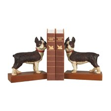 <strong>Sterling Industries</strong> Boston Terrier Book Ends (Set of 2)