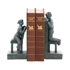 Peek A Boo Bookends (Set of 2)