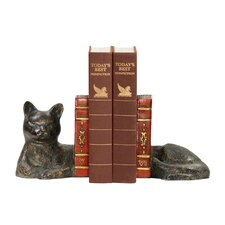 Cat Napping Bookends (Set of 2)