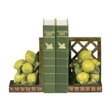 Lemon Orchard Bookends (Set of 2)