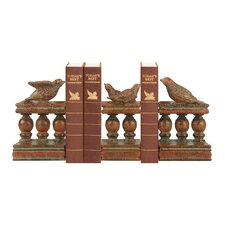 Bird and Bannister Book End (Set of 3)