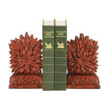 Floral Book End (Set of 2)