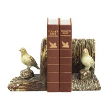 <strong>Sterling Industries</strong> Woodland Bird Book Ends (Set of 2)