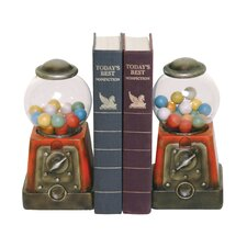 Candy Treasure Book Ends (Set of 2)