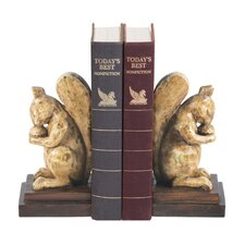 Acorn Lover Book Ends (Set of 2)