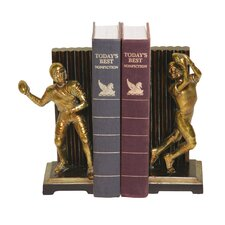 Vintage Touchdown Book End Set (Set of 2)
