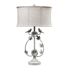 Two Birds Iron Table Lamp