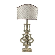 """Chicken Wire 29"""" H Table Lamp"""