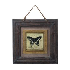 <strong>Sterling Industries</strong> Picture Frame with Butterfly Print