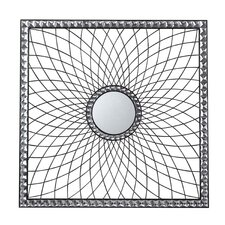 Mirror with Crystal Look Surround