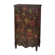 <strong>Sterling Industries</strong> Floral Console Table